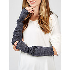Kim   Co Shimmer Sweater Jersey Arm Warmers d6532c5afee2