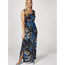 Joe Browns Printed Maxi Dress with Side Slits