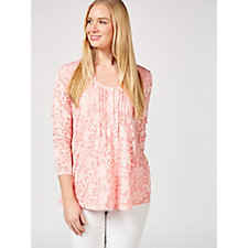 Together Burnout Long Sleeve Tunic