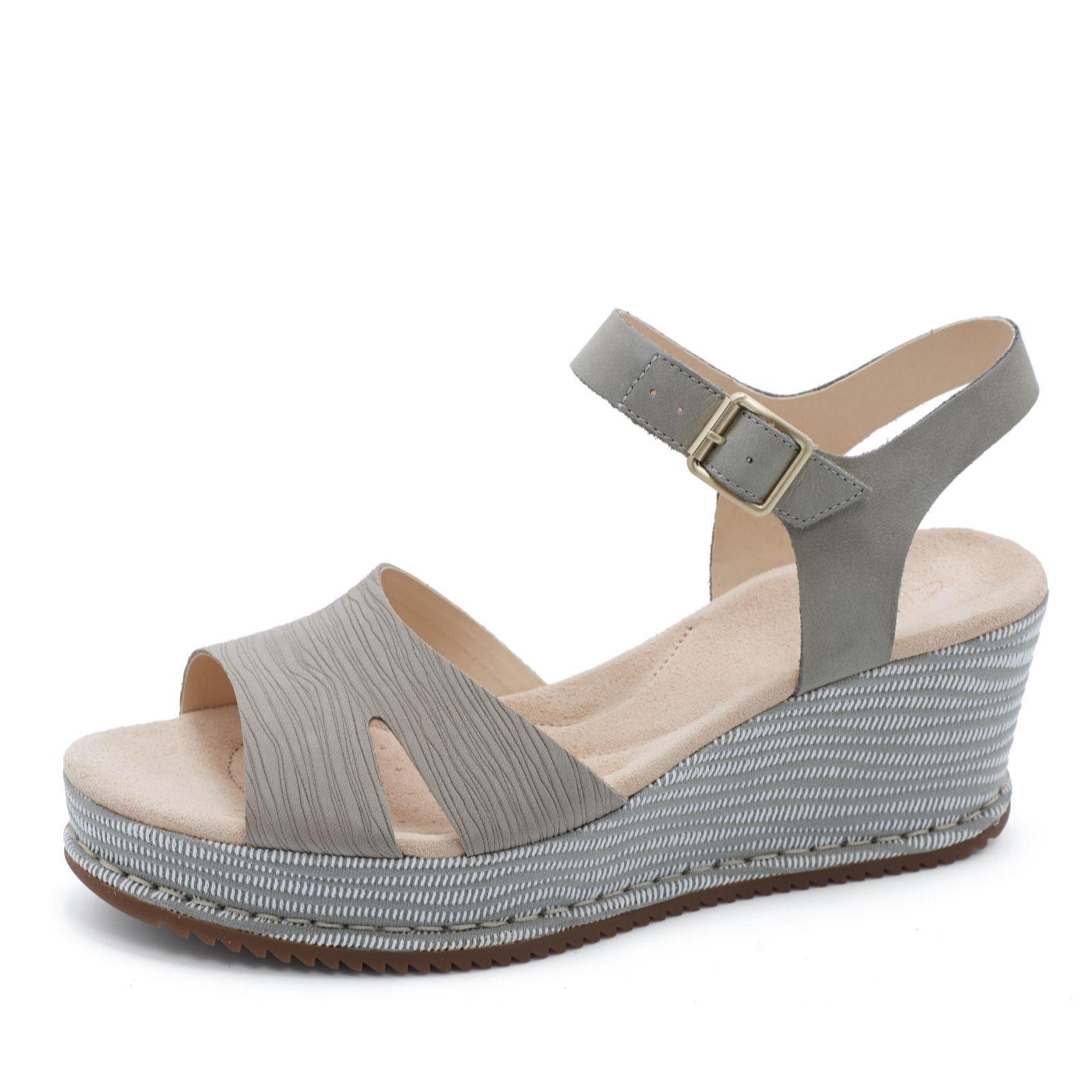 f9123219113 Clarks Akilah Eden Strappy Sandal Standard Fit - QVC UK