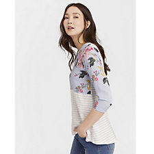 Joules Sonya Woven Mix Top