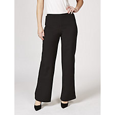 Women with Control Tuxedo Stripe Petite Trousers