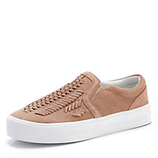 Marc Fisher Dexie Suede Flatform Trainer