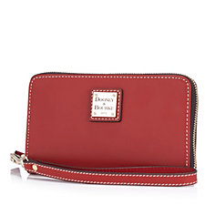 Dooney & Bourke Beacon Leather Phone Wristlet Purse