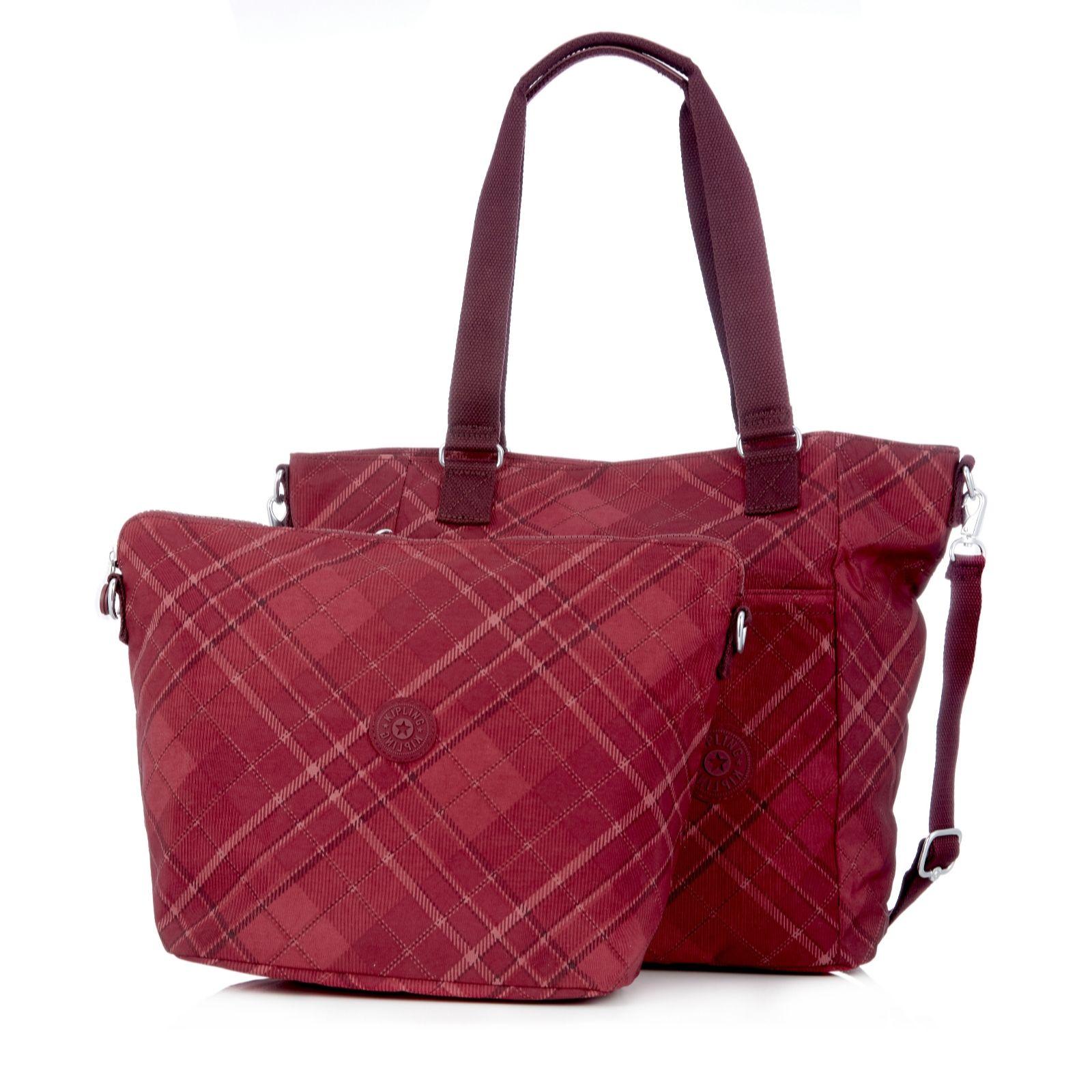 Kipling Audria Large 2 in 1 Tote Bag with Shoulder Strap ...