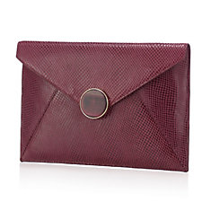 Lola Rose Leather Clutch Bag