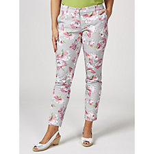 Betty & Co Printed Tailored Trousers