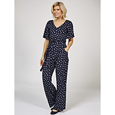 Phase Eight Laila Ditsy Spot Jumpsuit