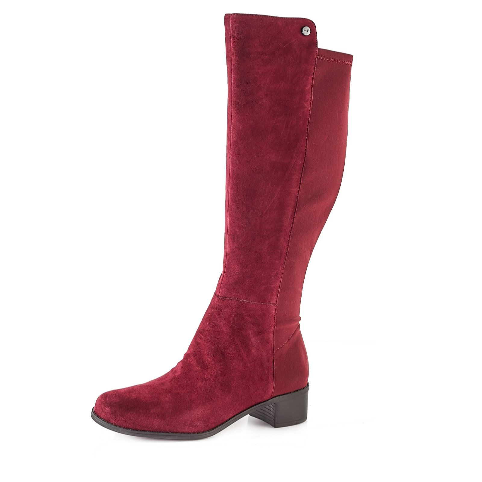 4be15d89583 Marc Fisher Irisy Leather Knee High Boot Standard Calf Width - QVC UK