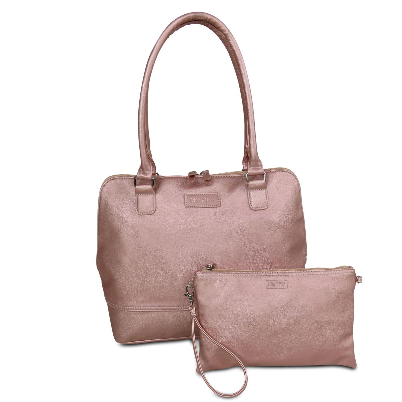 514640f1ff Mia Tui Eleanor Shoulder   Clutch Bag Set - QVC UK
