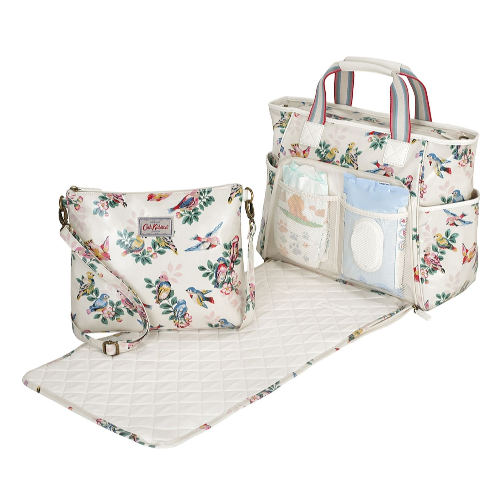 aea080dd1844a Cath Kidston Carry All Nappy Bag - QVC UK