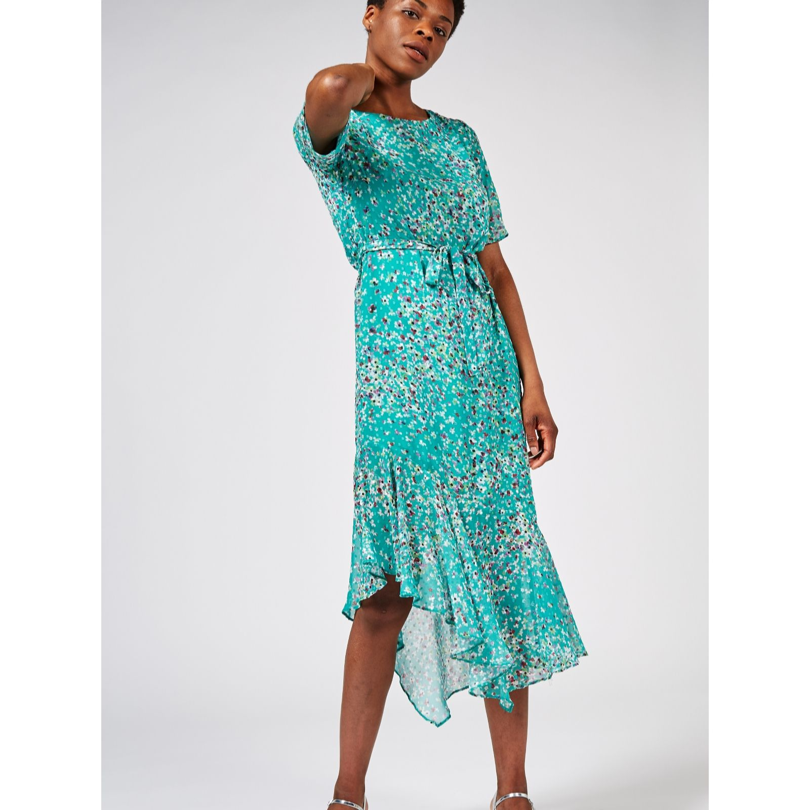 e460f7c6a87 Phase Eight Klara Printed Dress - QVC UK