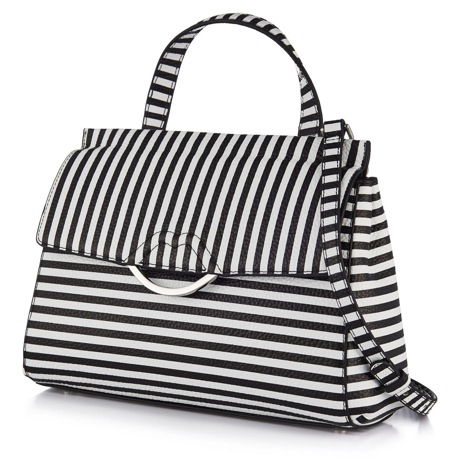 Lulu Guinness Gertie Medium Leather Bag with Crossbody Strap ... b25104a9fe895