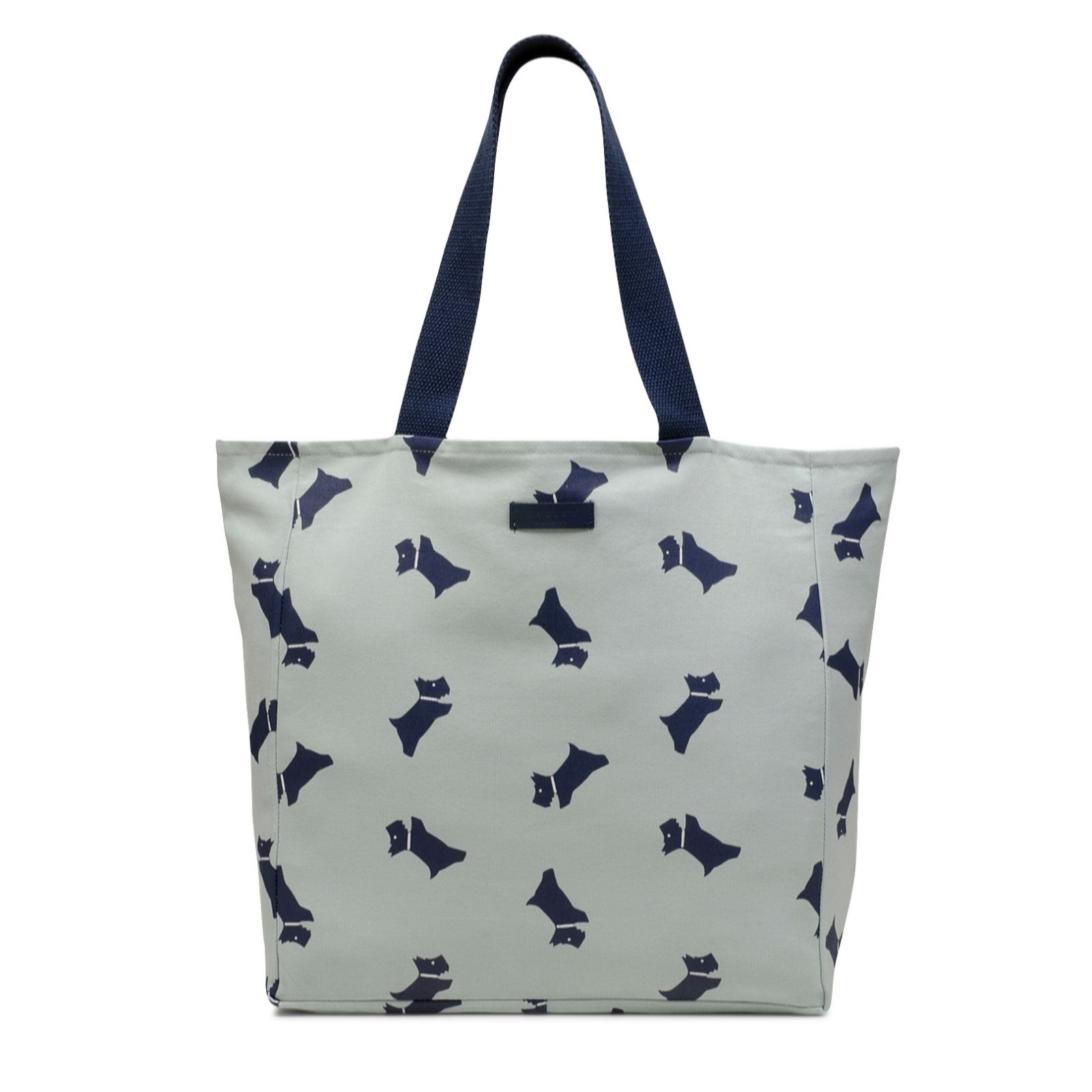 31b0a09751d7 Radley London Lincoln Inn Multi Dog Canvas Tote Bag - QVC UK
