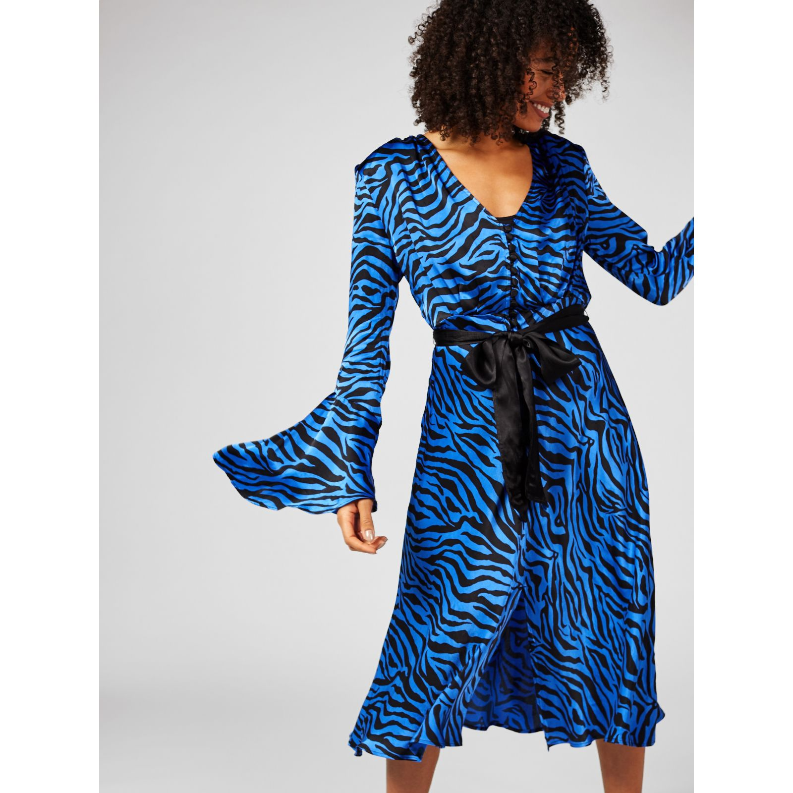 e0a97e4e0ec Ghost London Annabelle Dress - QVC UK