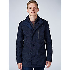 Rino & Pelle Mens Coat with Buckle Detail