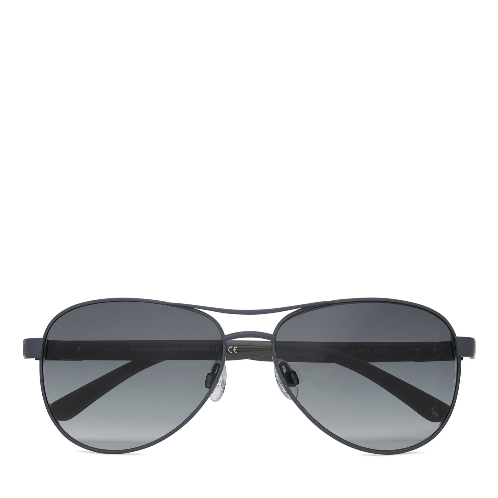 fe2c143e888 Joules Cowes Aviator Sunglasses with Pouch - QVC UK