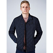 Rino & Pelle Mens Quilted Zip Through Jacket