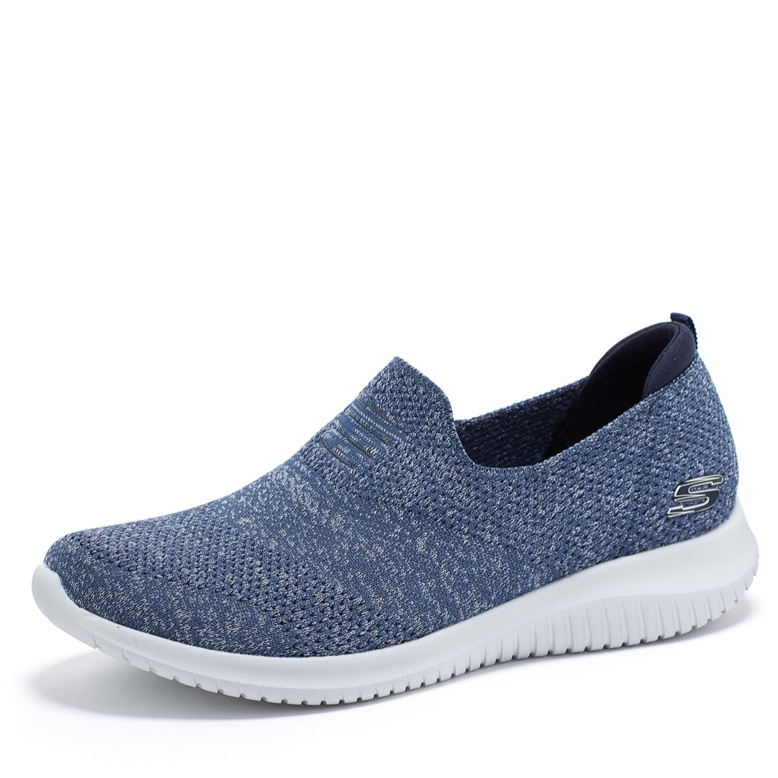 5705be8d47040 Skechers Ultra Flex Harmonious Knitted Slip On Shoe - QVC UK