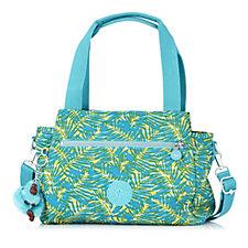Kipling Elysia Medium Triple Compartment Shoulder Bag with Crossbody Strap