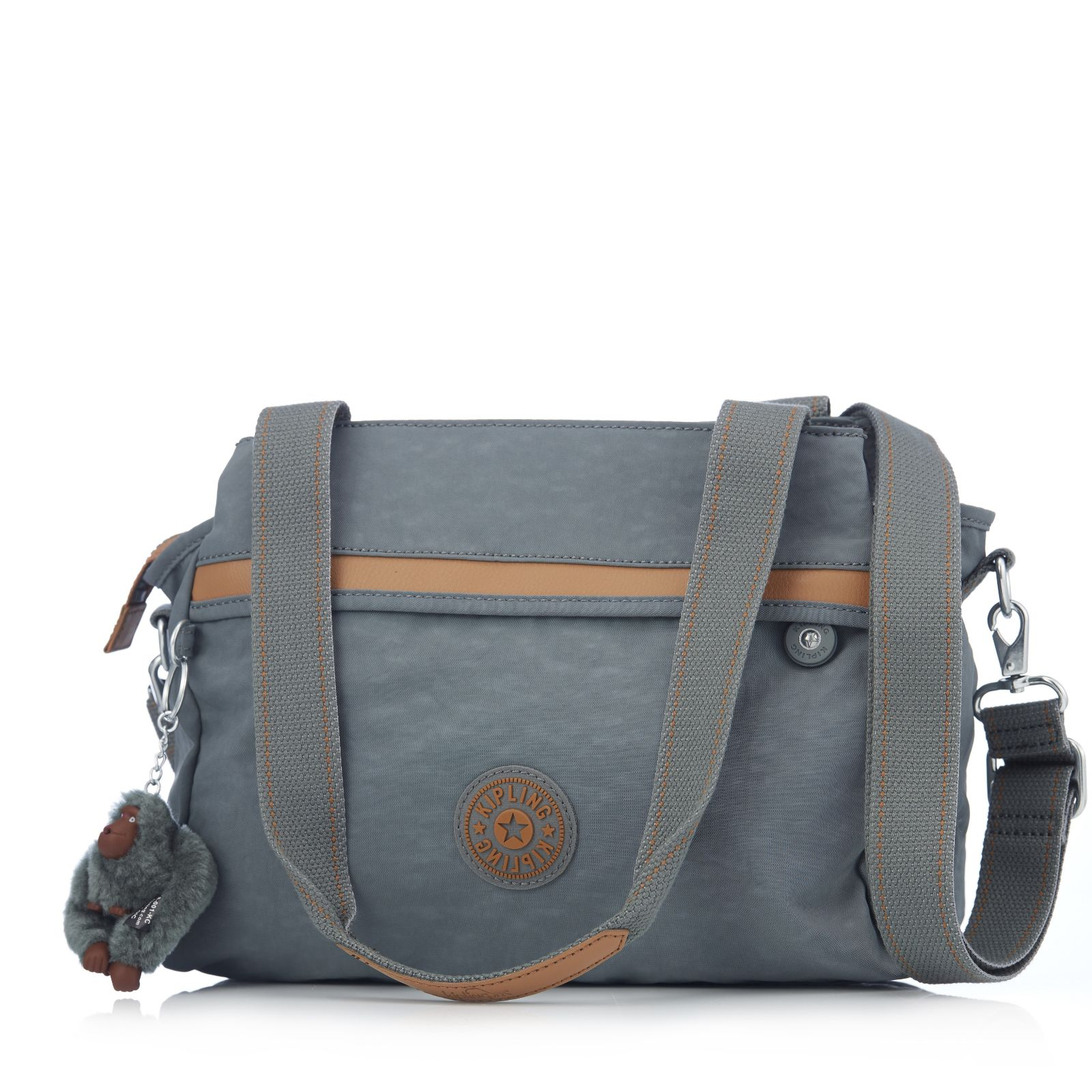 Kipling Neila Medium Shoulder Bag - QVC UK a5642a15d1e95