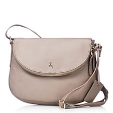 a4d0bf86fa1fc Ashwood Medium Leather Flapover Crossbody Bag