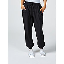 Anybody Stretch Knit Jogger Pants With Cuffs
