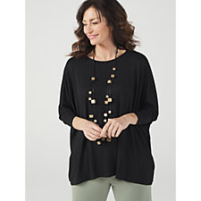 175694 - WynneLayers Relaxed Bateau Neck Boxy Top