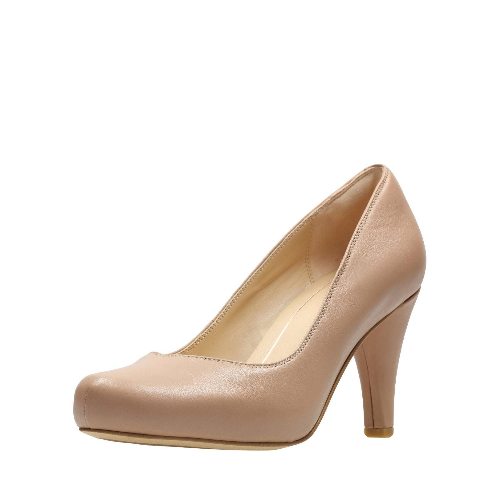 b9b2dcd37de Clarks Dalia Rose Court Shoe Wide Fit - QVC UK