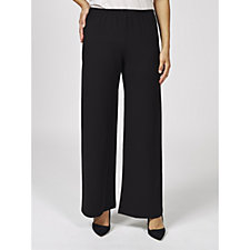 Join Clothes Wide Leg Trousers with Stretch Waistband