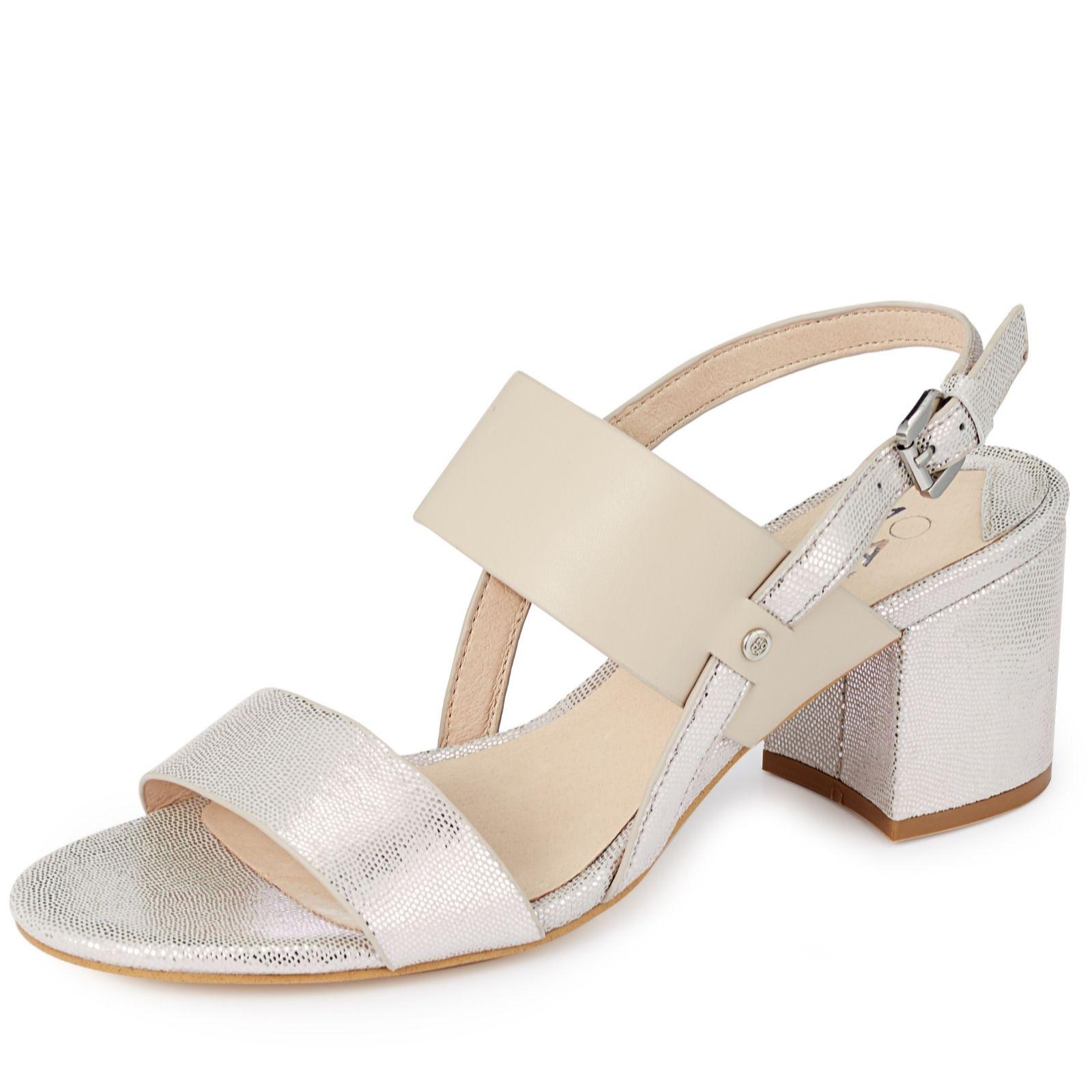 894610ddca8f1 Moda In Pelle Lodrana Block Heel Sandal - QVC UK