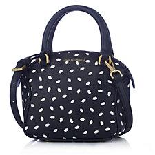 Lulu Guinness Mini Bella Leather Lip Print Grab Bag