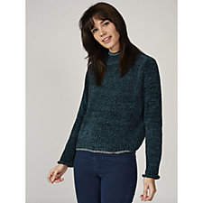 Betty & Co Chenille Jumper with Metallic Detail