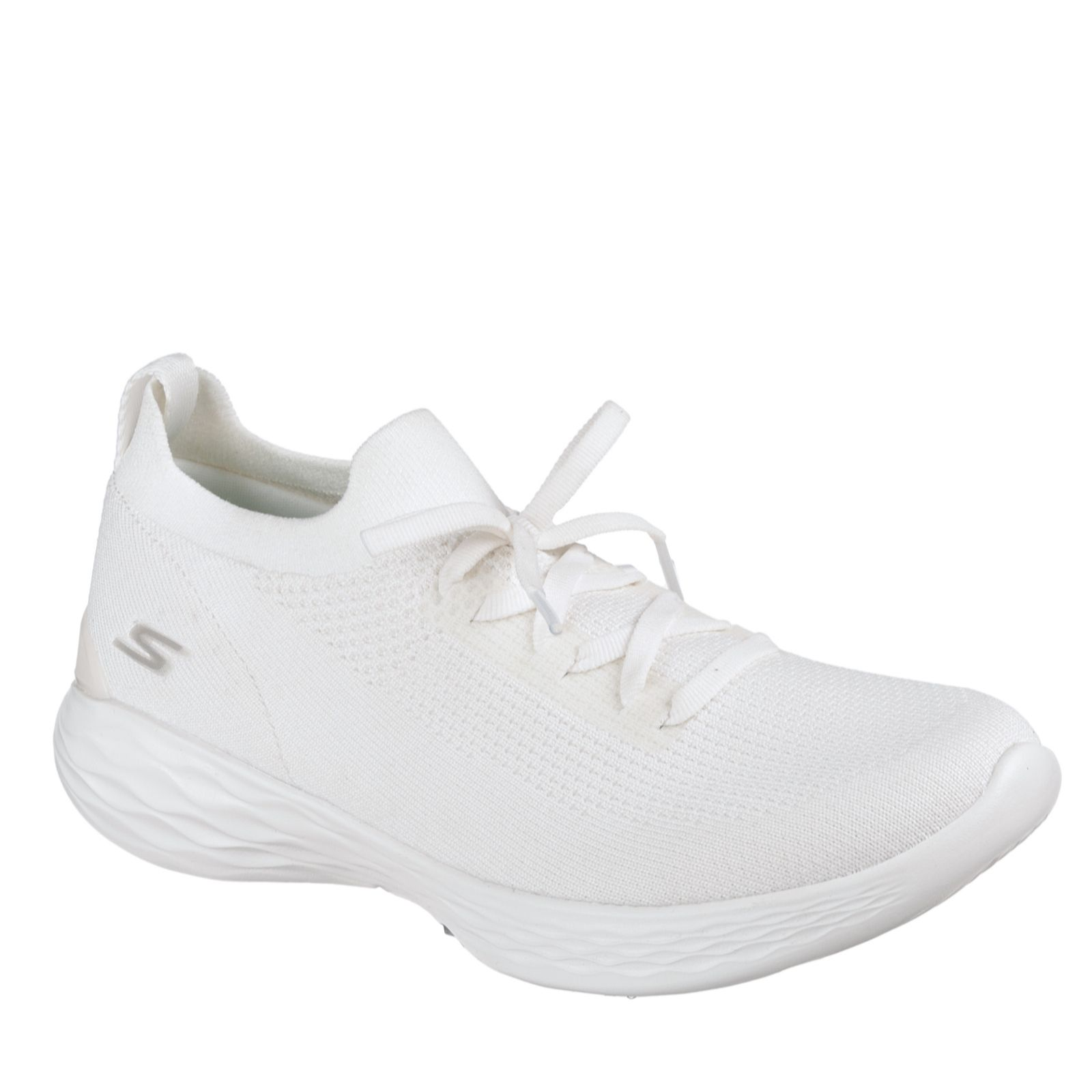 c72f8a7a58fa Skechers YOU Shine Slip On Knit Trainer with Memory Foam - QVC UK