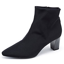 Peter Kaiser Mariona Ankle Boot with Pointed Toe & Side Zip