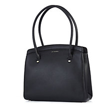 Lulu Guinness Large Nancy Grainy Leather Tote Bag