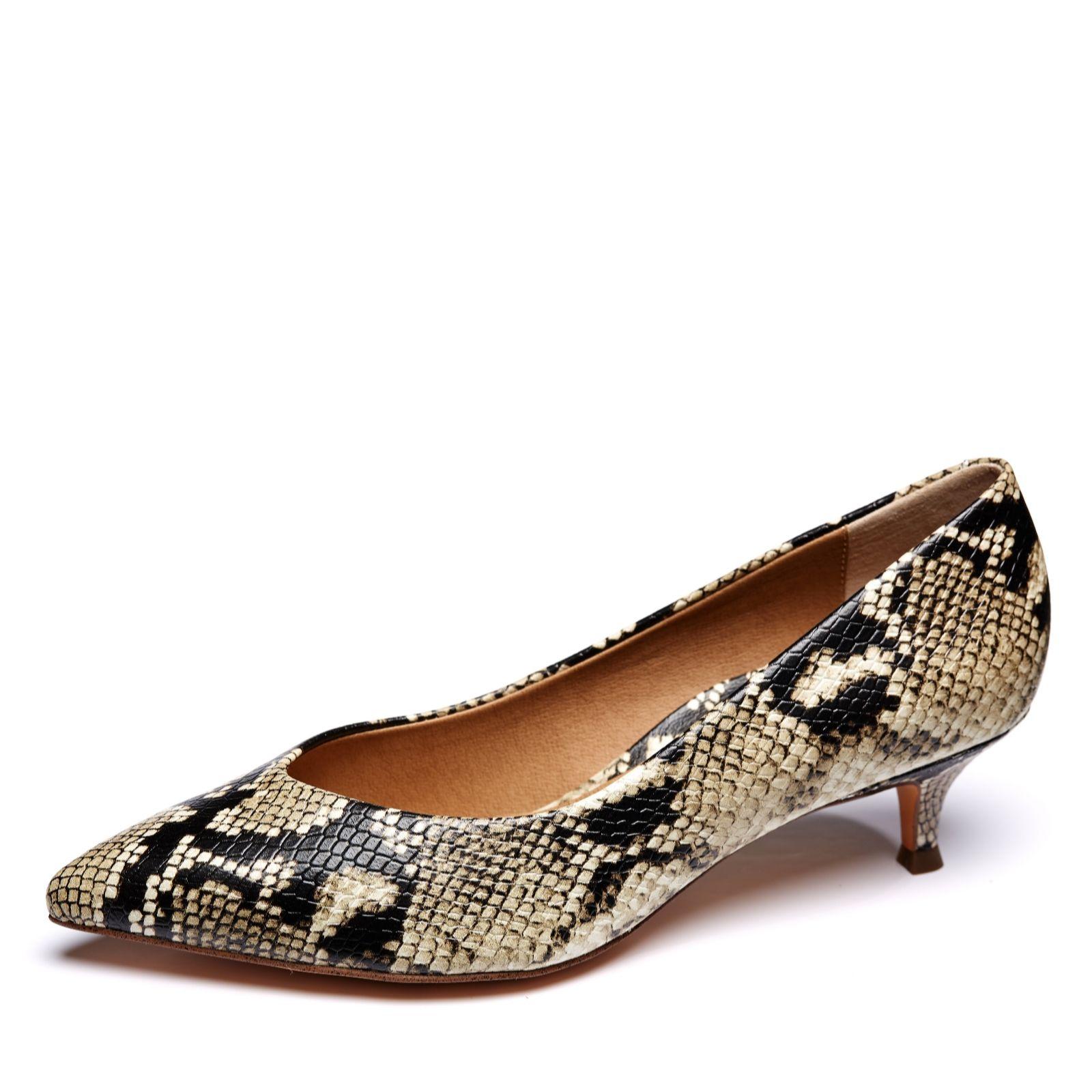 75612ee55e6e Vionic Orthotic Josie Court Shoe w/ FMT Technology - QVC UK