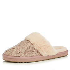 49466ef7dd50 Skechers Glitter Knit Slippers