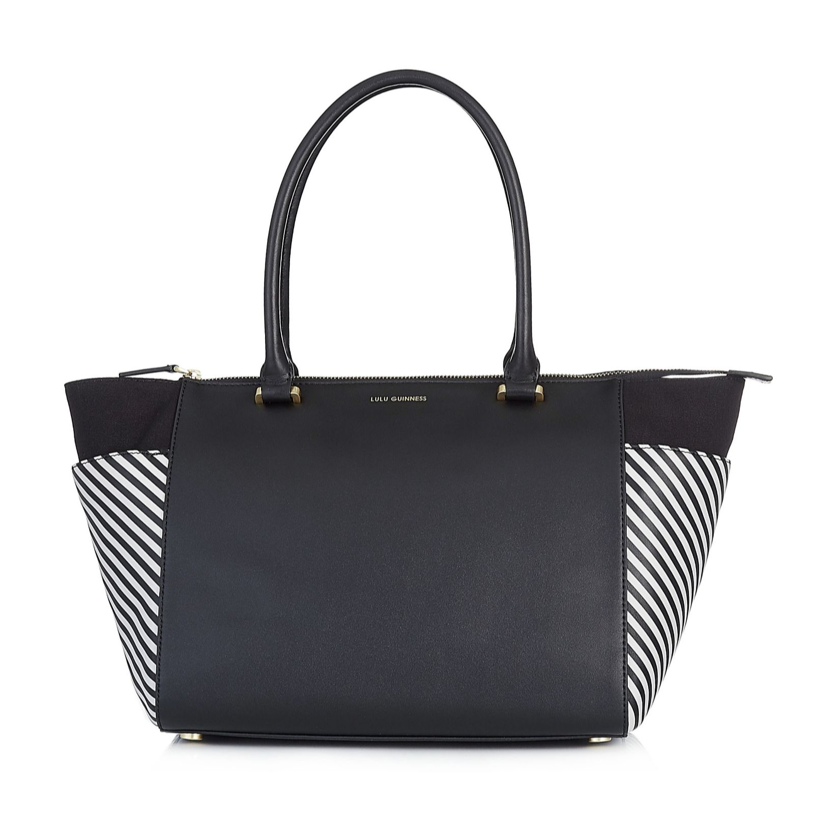 Tote Bag On Sale in Outlet, Blue, Leather, 2017, one size Lulu Guinness