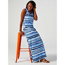 Denim & Co. Perfect Jersey Scoop Neck Sleeveless Maxi Dress