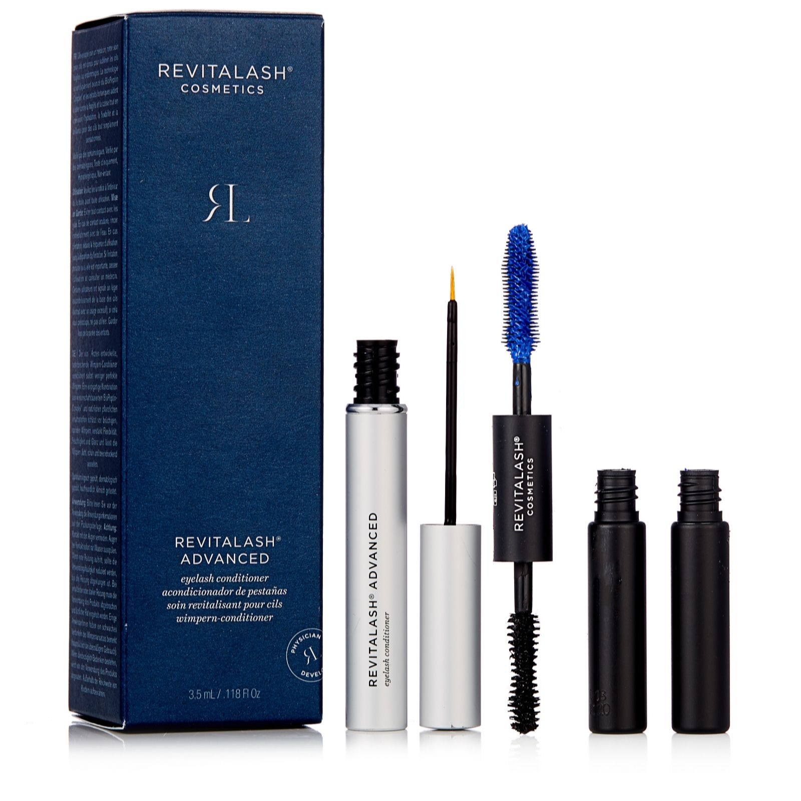 bd621d7ba69 Revitalash 3.5ml Lash Conditioner & 2.5ml Double Ended Primer & Mascara -  QVC UK