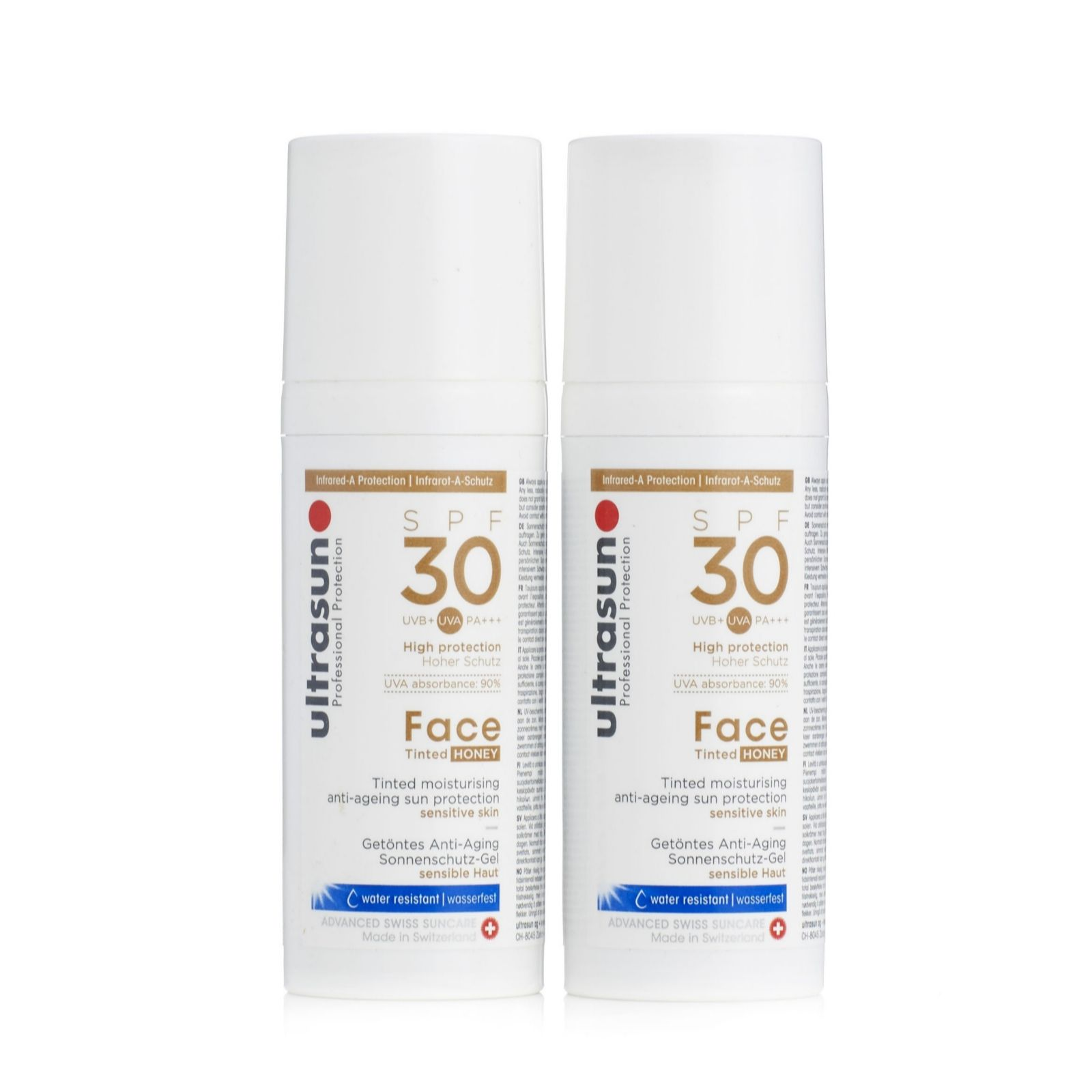 a8fbbf2d11e Ultrasun Sun Protection Tinted Face SPF 30 50ml Duo - Page 1 - QVC UK