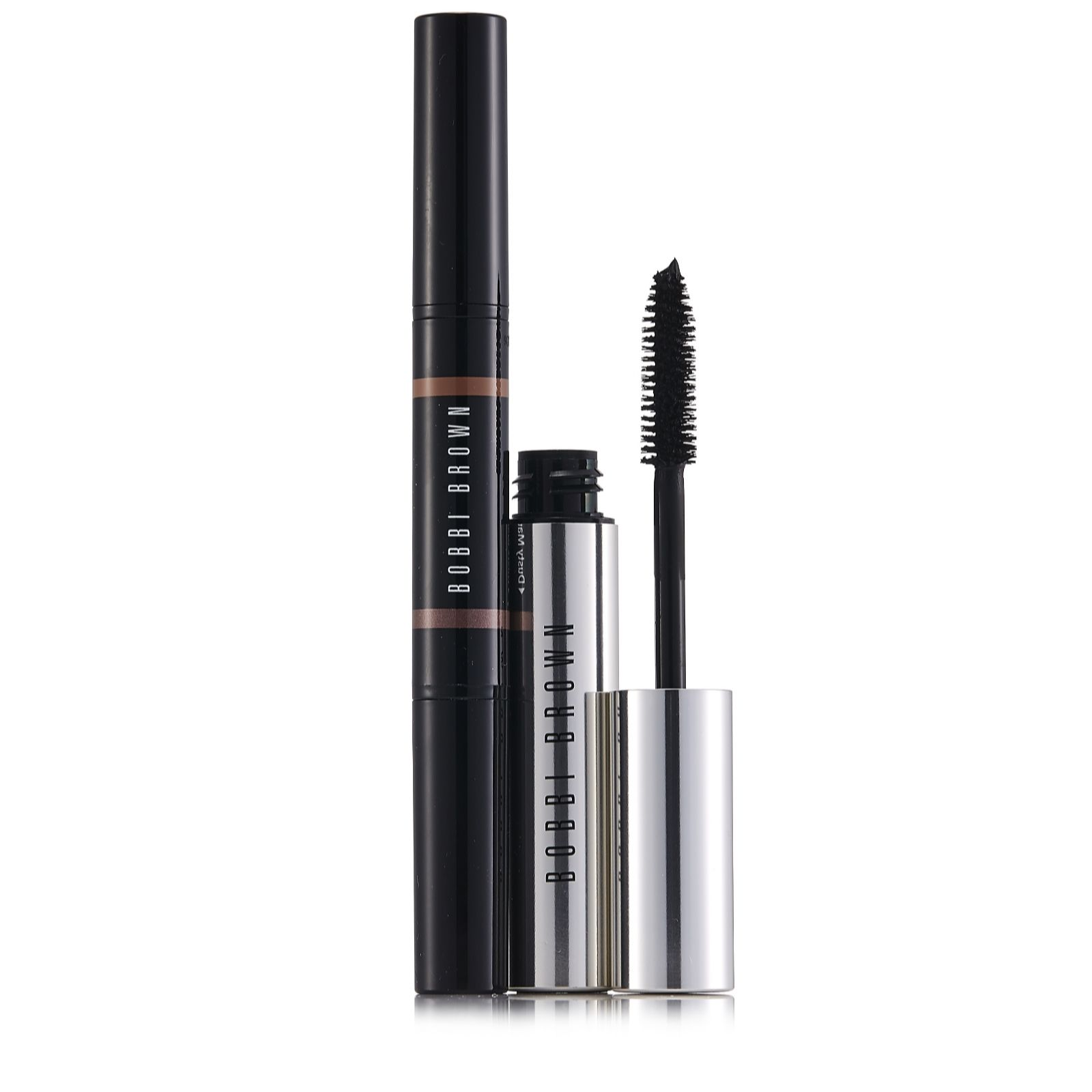 aa73dc0fbe4 Outlet Bobbi Brown Dual Ended Long-Wear Shadow Smudge Mascara - QVC UK