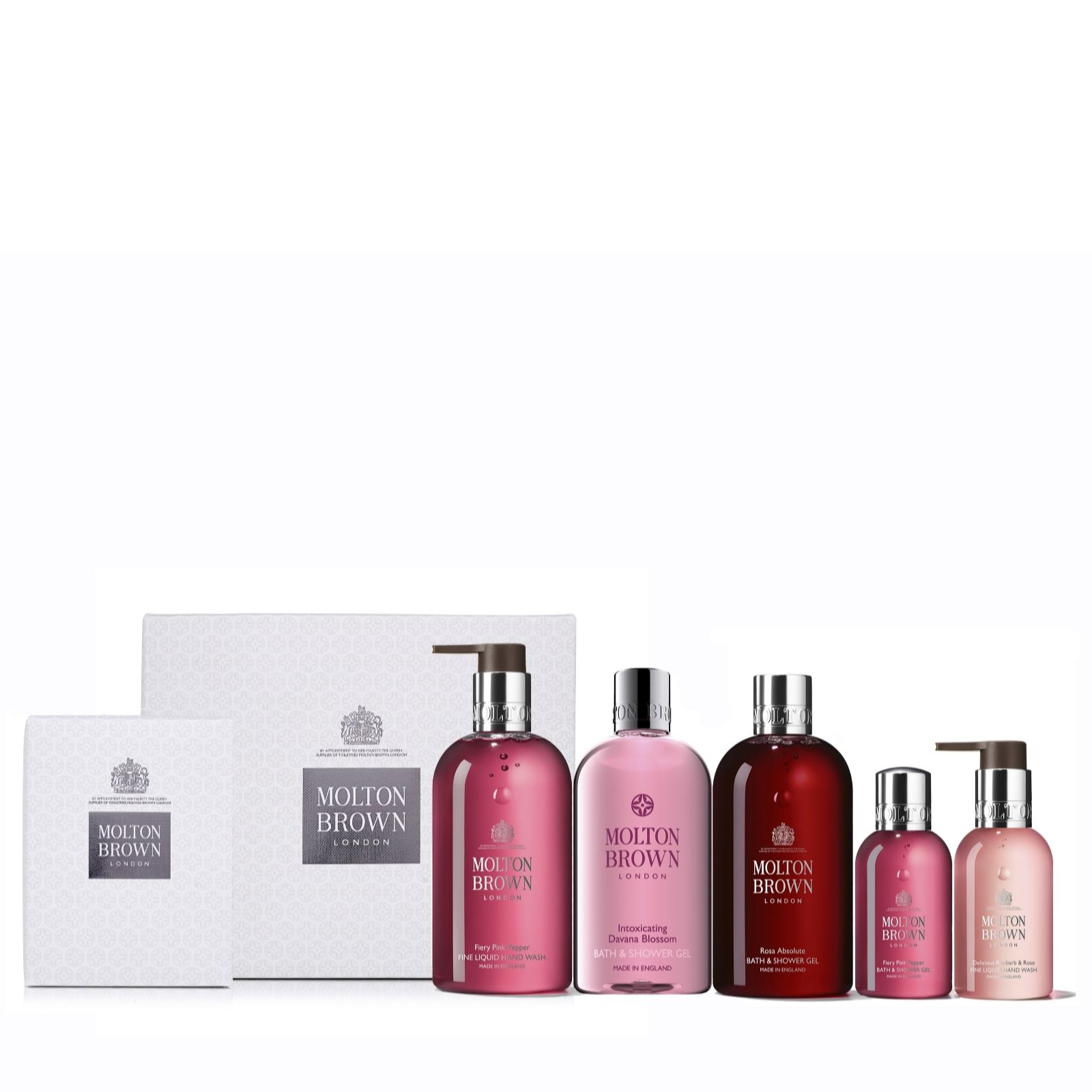 8ca02fa00569 Molton Brown 5 Piece Luxurious Gift Collection - QVC UK