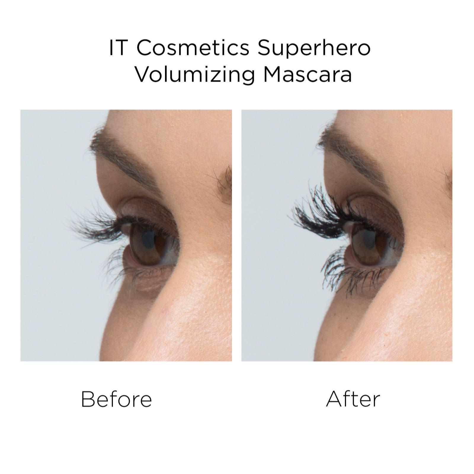 dbf8d837852 IT Cosmetics Superhero Elastic Stretch Volumizing Mascara Duo - QVC UK