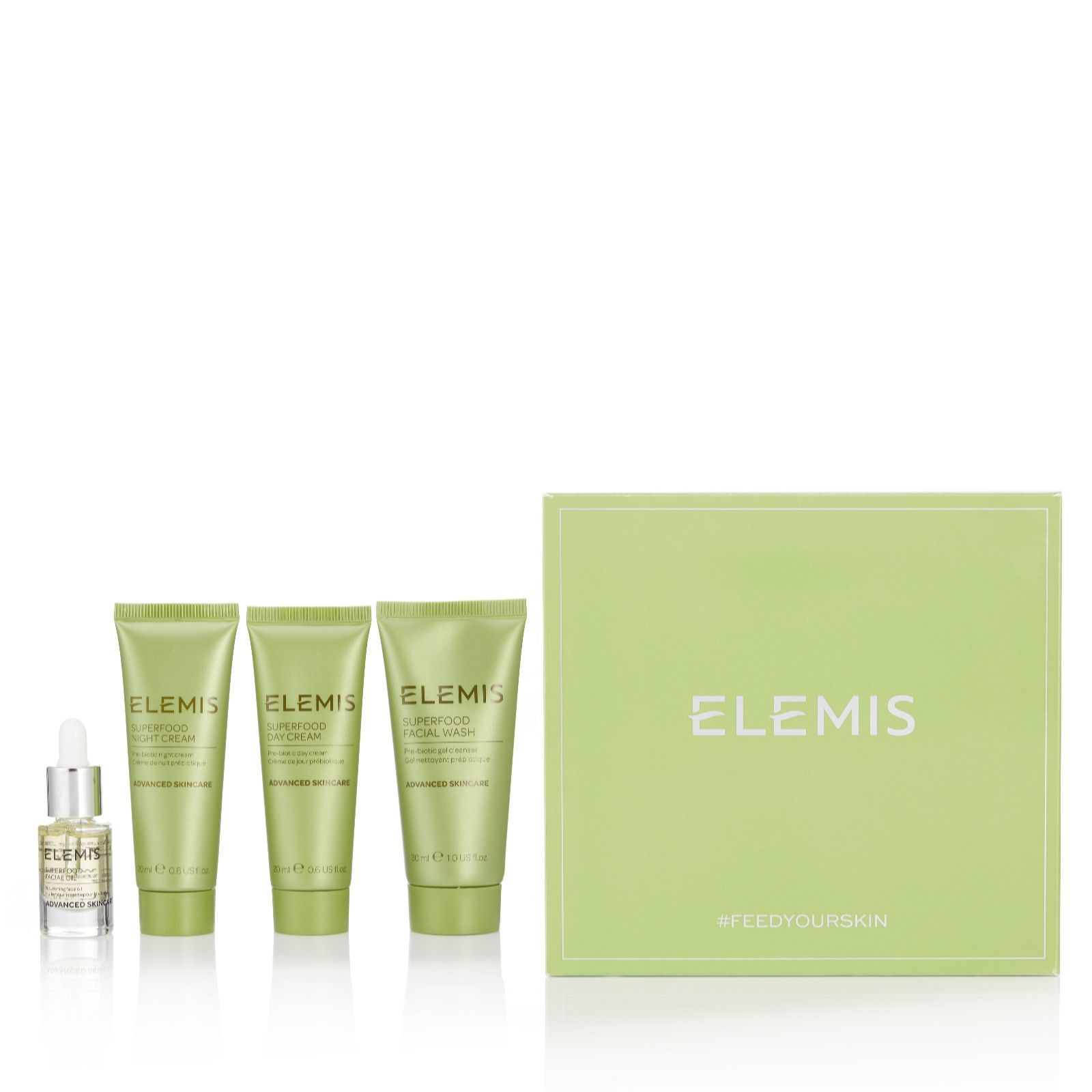 1259bceb6b62 Elemis 4 Piece Superfood Discovery Collection - QVC UK