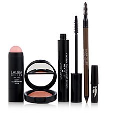 Laura Geller 4 Piece Touch Up & Glow Make Up Collection