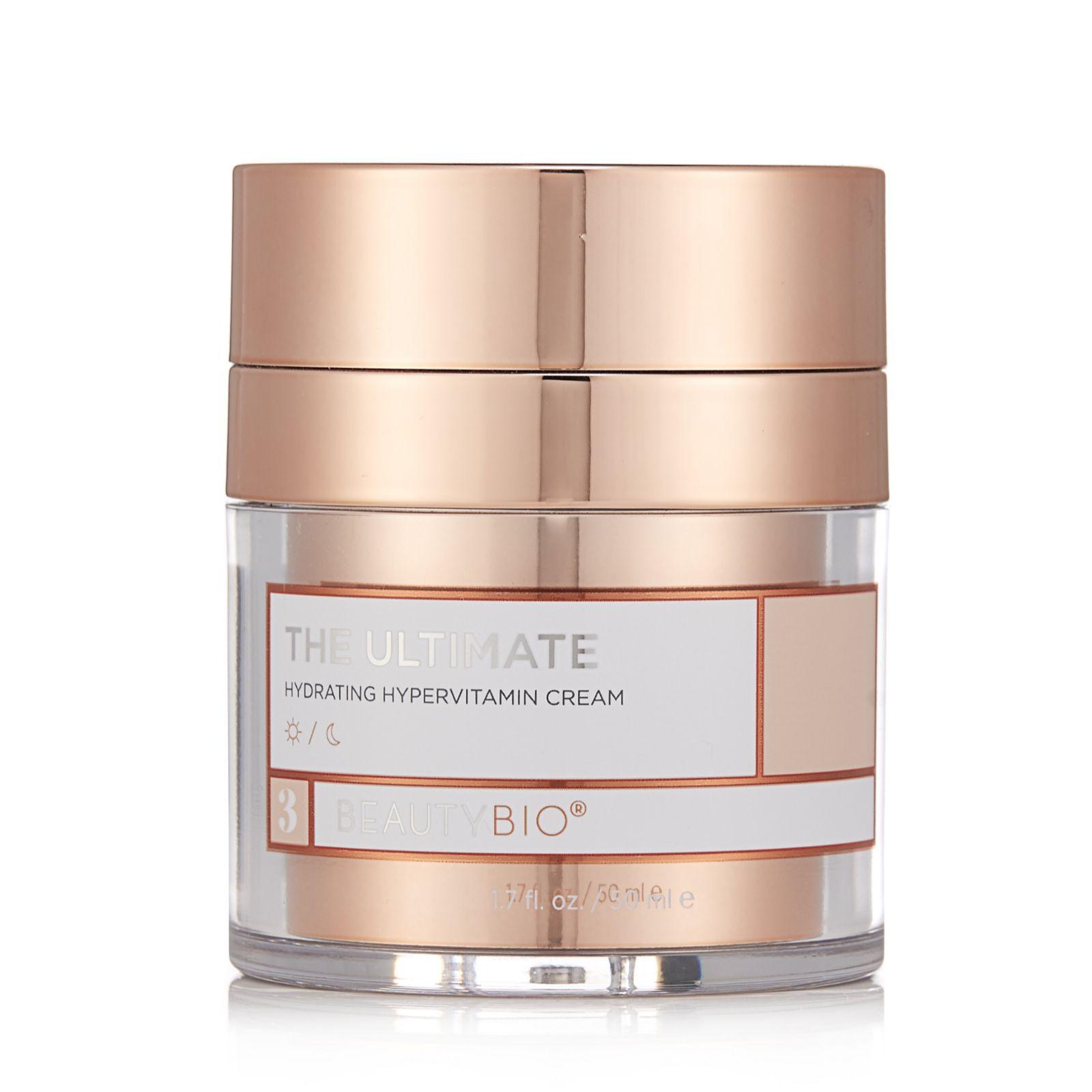 62eacd7f07d BeautyBio Retinol R45 Anti-Ageing System with Moisturiser & Serum - QVC UK