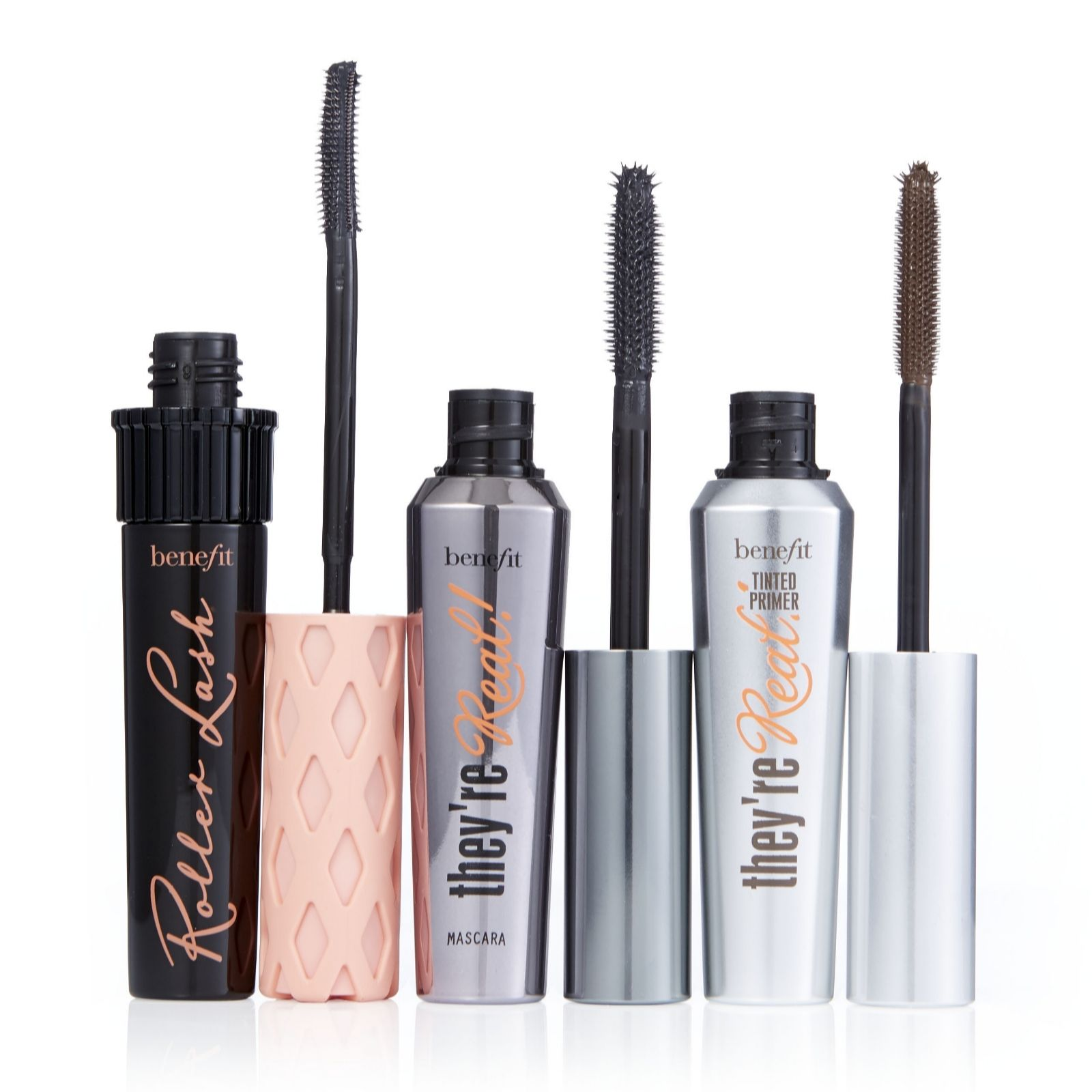 7df858d7f50 Benefit 3 Piece Rollerlash & They're Real Mascara & Primer - QVC UK