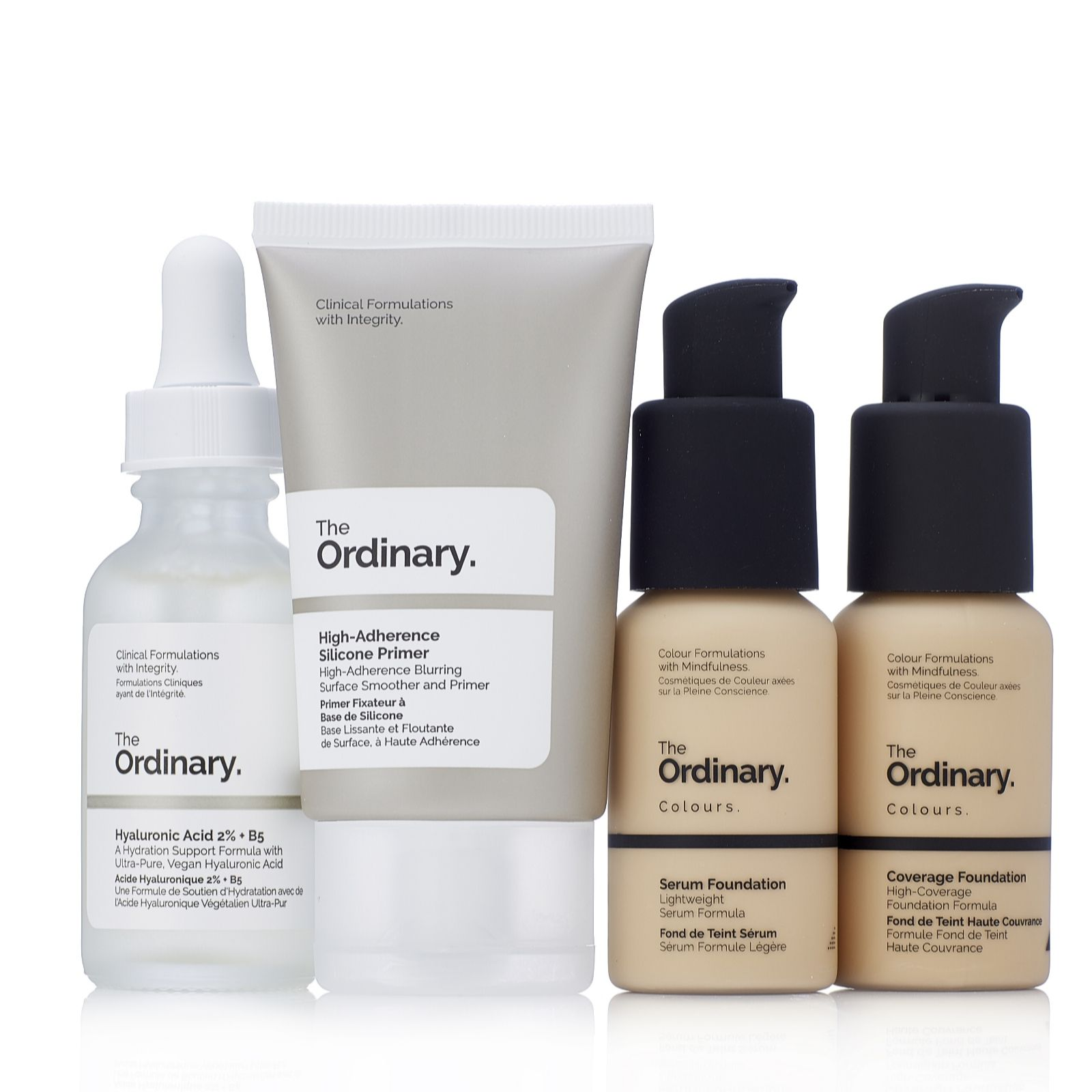 The Ordinary 4 Piece Foundation Collection - QVC UK